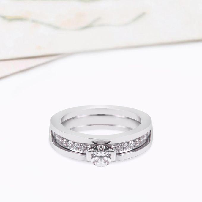 Diamond Wedding Ring VIN Jewellery by V&Co Jewellery - 002