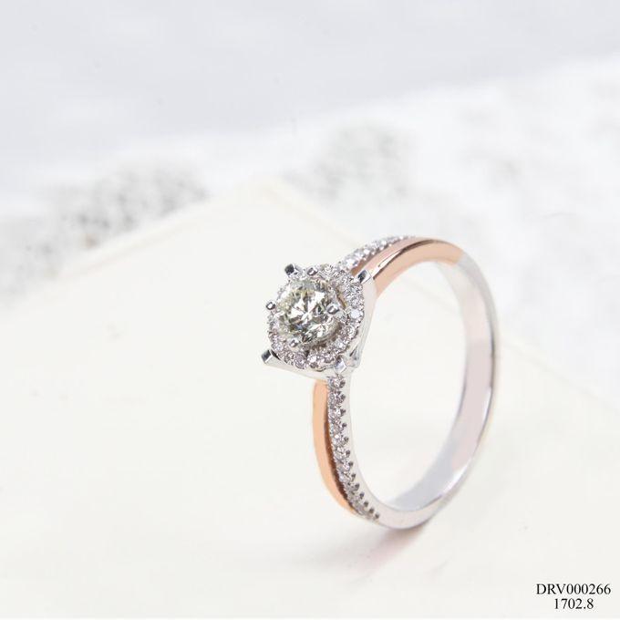 Women Diamond Ring by VIN Jewellery by V&Co Jewellery - 001
