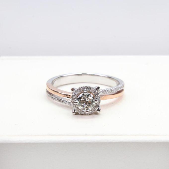 Women Diamond Ring by VIN Jewellery by V&Co Jewellery - 002