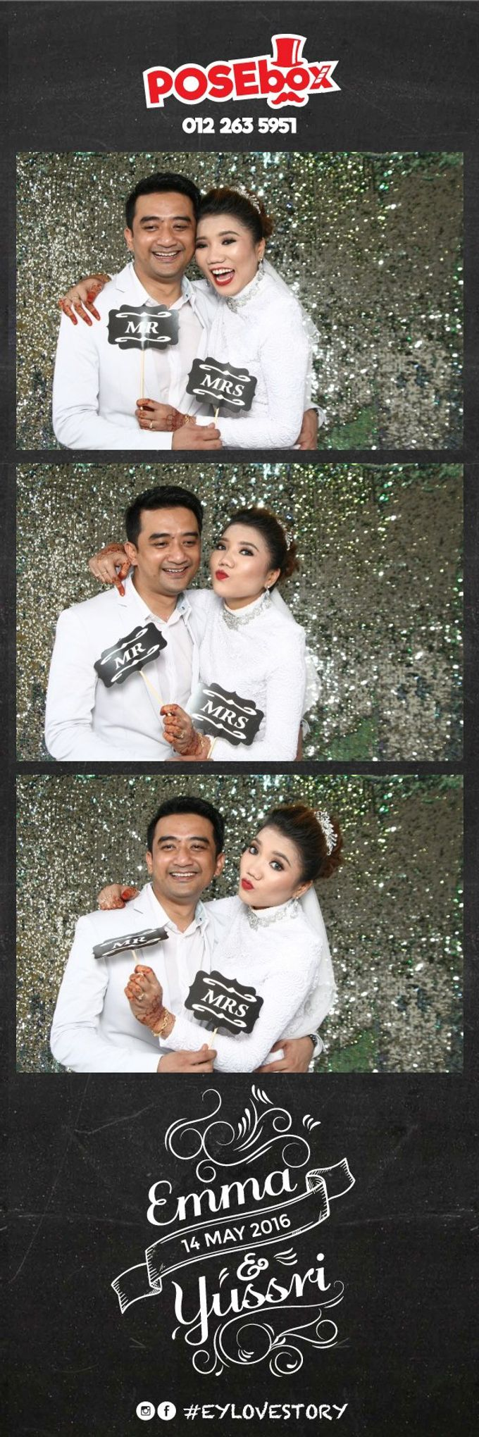 EMMA & YUSSRI WEDDING by Iskandar Ibrahim Productions - 003