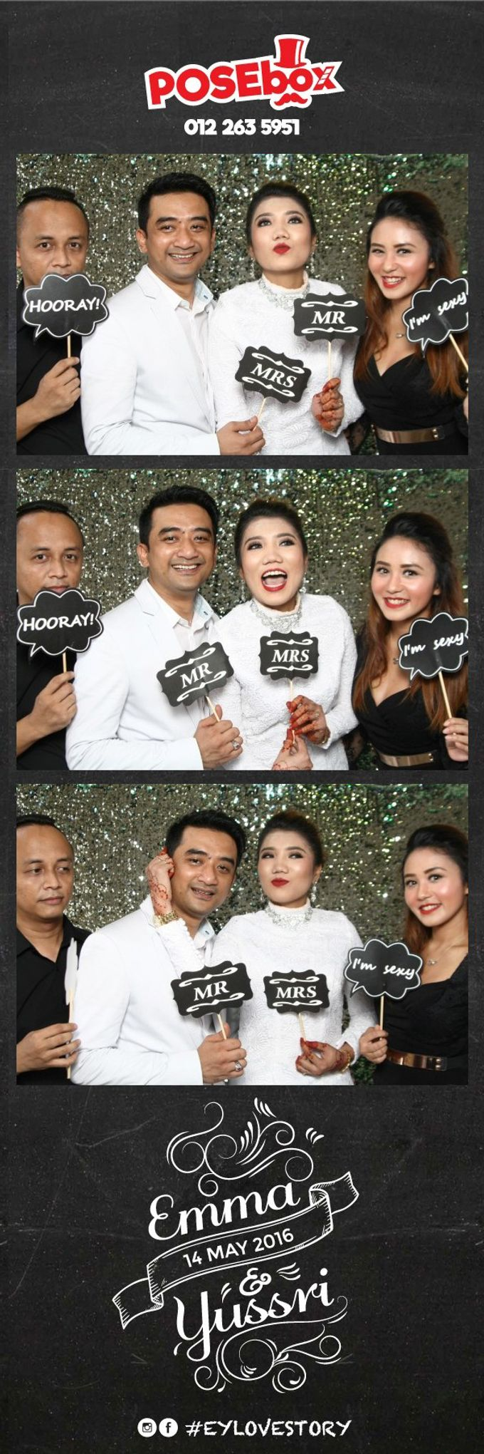 EMMA & YUSSRI WEDDING by Iskandar Ibrahim Productions - 004