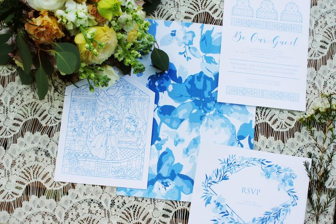 Beauty and the Beast Garden Wedding by Blossoms Bridal & Occasions - 035