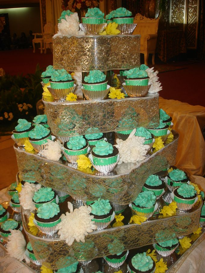 Tosca Wedding Cupcakes by Diana's Kitchen - 002