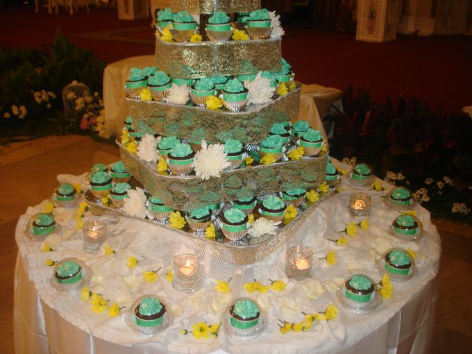 Tosca Wedding Cupcakes by Diana's Kitchen - 001