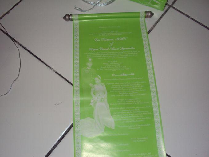 Undangan pernikahan model gulung by Mega 28 - 003