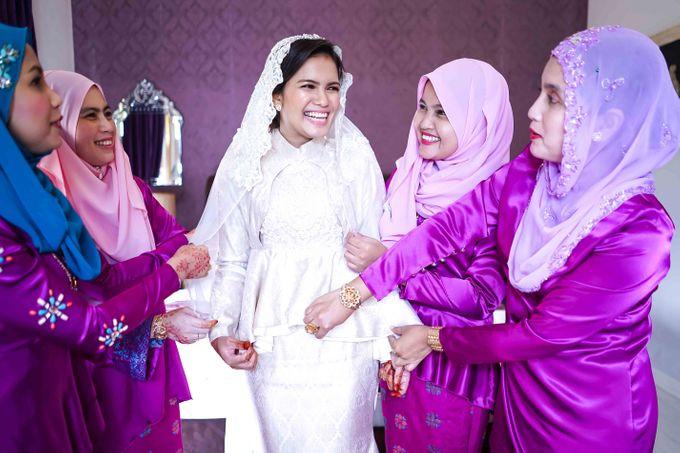 Malay Wedding - Zuzu & Mikhail by Raihan Talib Photography - 005