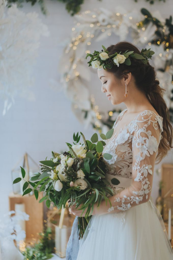 WINTER WONDERLAND STYLED SHOOT  BY ALCOVE AT CALDWELL HOUSE by Rosette Designs & Co - 001