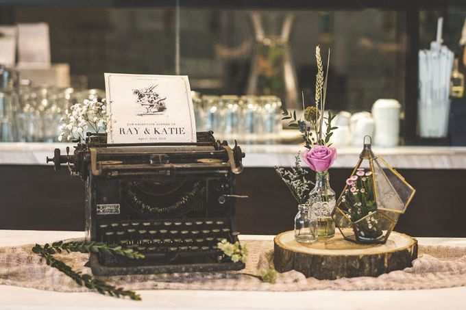 Blushy Vintage Wedding by The Bloomingbuds - 001