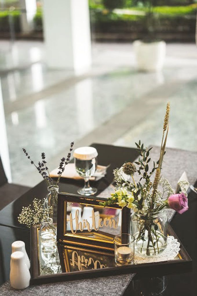 Blushy Vintage Wedding by The Bloomingbuds - 007