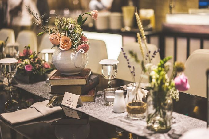 Blushy Vintage Wedding by The Bloomingbuds - 008