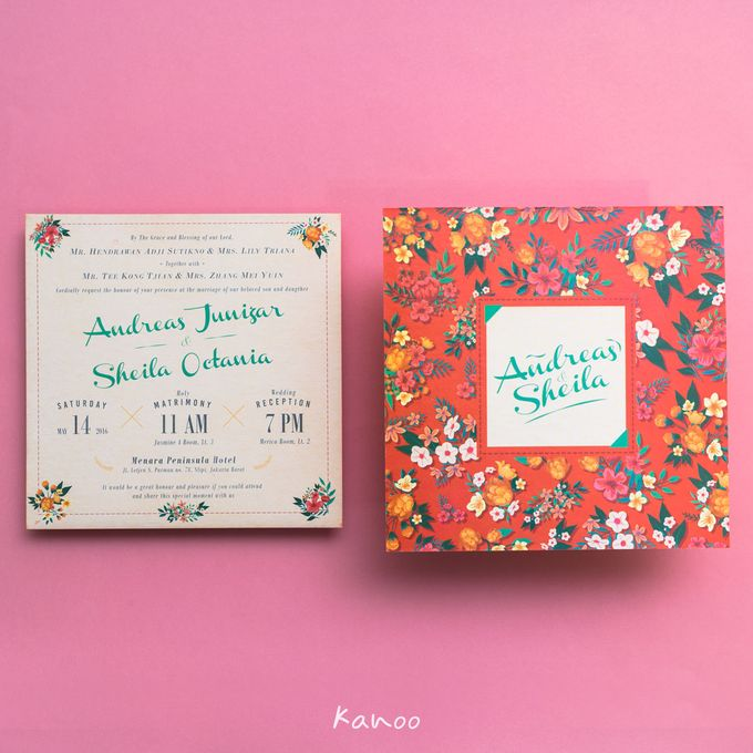 Andreas & Sheila Wedding Invitation by Kanoo Paper & Gift - 003