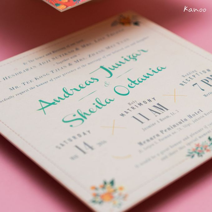Andreas & Sheila Wedding Invitation by Kanoo Paper & Gift - 004