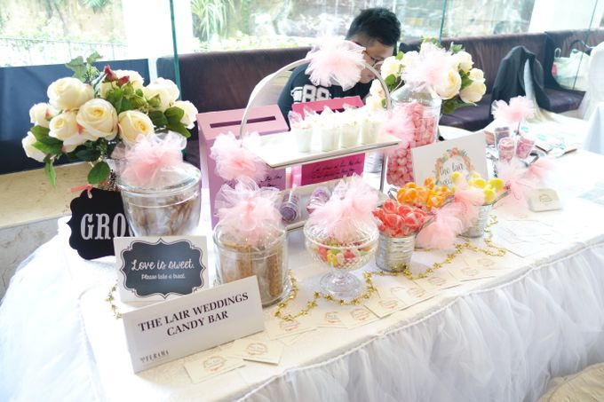 Wedding Show 2017 - Feb by The Lair Weddings Candy Bar - 001