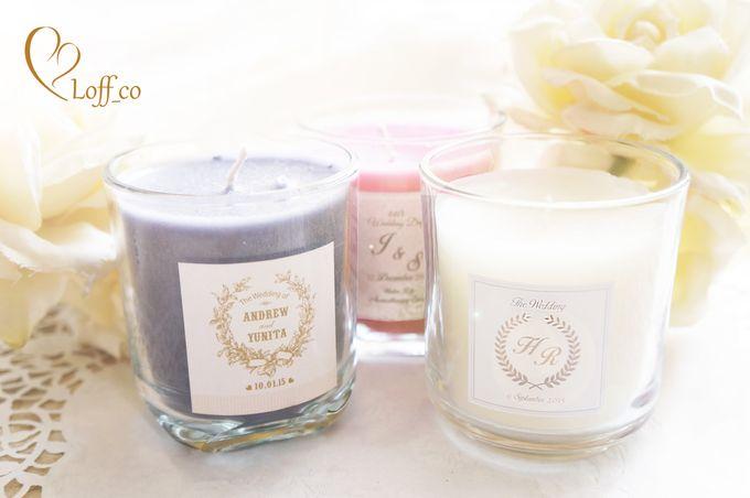 Aromatherapy Candle by Loff_co souvenir - 008