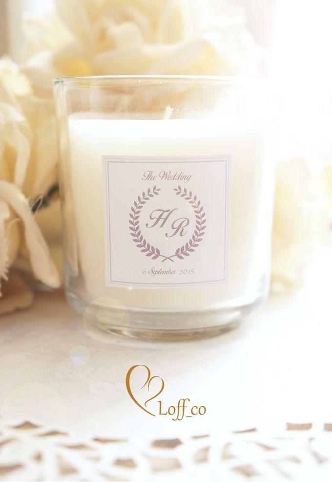 Aromatherapy Candle by Loff_co souvenir - 001