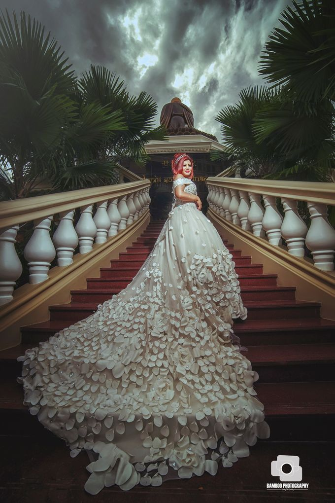 bride by Bamboo Photography - 004