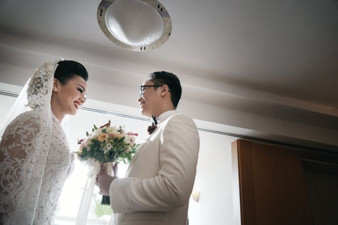 Togi & Jesicca - Holy Matrimony & Batak Ceremony by JAYSU Weddings by Jacky Suharto - 011