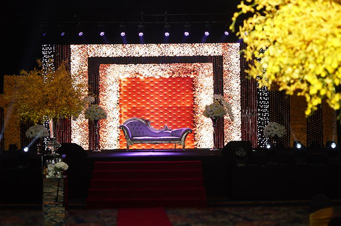 Wedding reception of Kabir & Tahira by Spring Cottage - 010