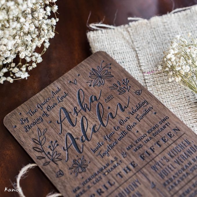 Wedding Invitation - Forever Rustic by Kanoo Paper & Gift - 002