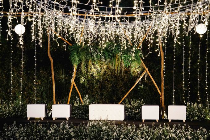Constelation Themed Wedding of Sid & Zindy at Maxis Resto by Elior Design - 006
