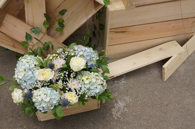 Rustic Wedding by La Bloom Florist - 003