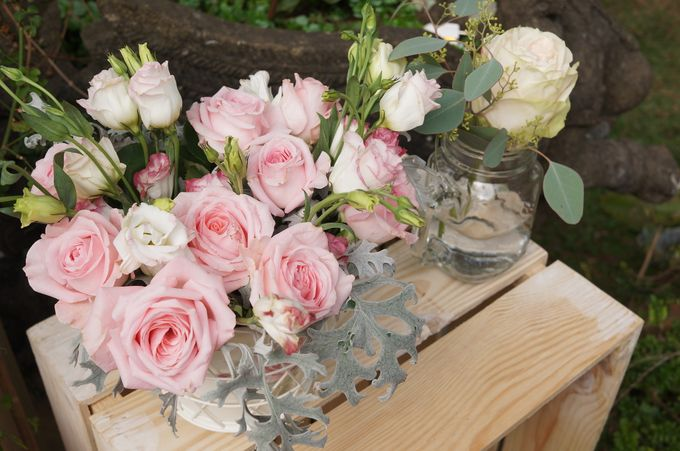 Rustic Wedding by La Bloom Florist - 005