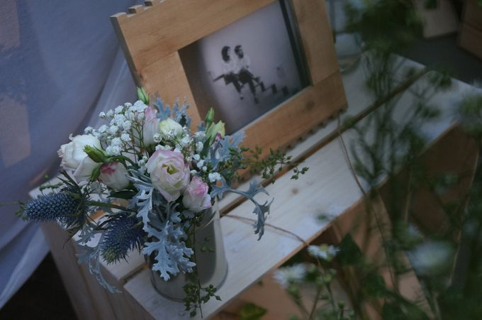 Rustic Wedding by La Bloom Florist - 010