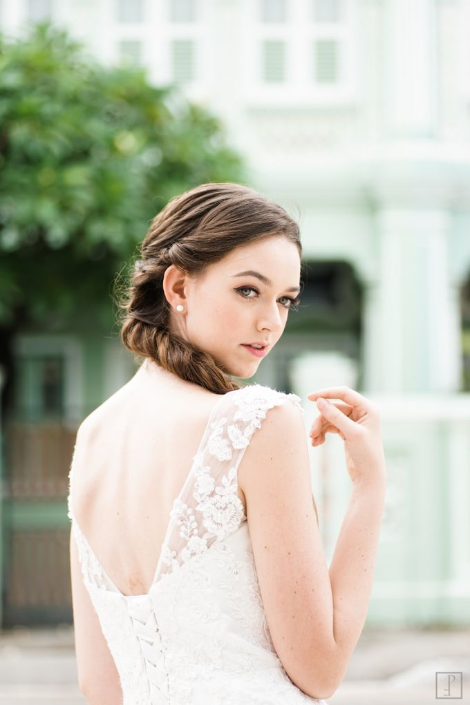 An Urban Bridal Styled Shoot in Joo Chiat Singapore by Peach Frost Studio - 006