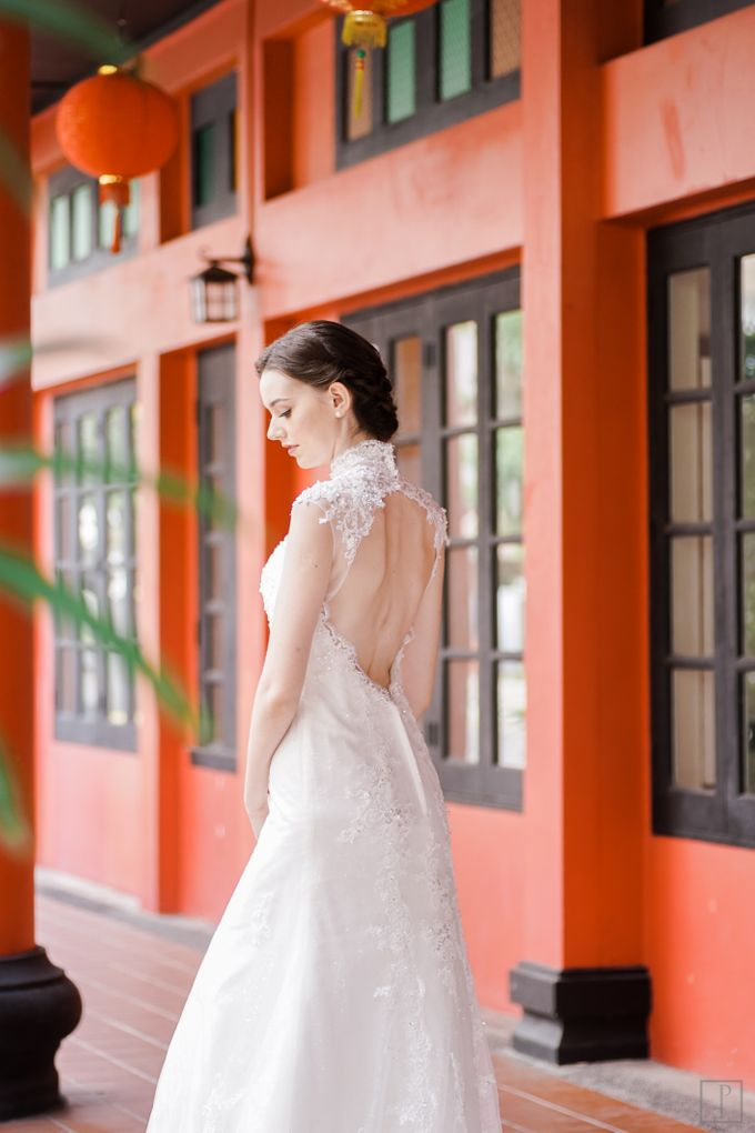 An Urban Bridal Styled Shoot in Joo Chiat Singapore by Peach Frost Studio - 020