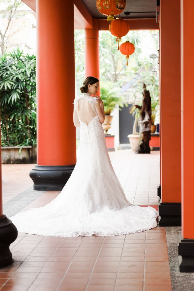 An Urban Bridal Styled Shoot in Joo Chiat Singapore by Peach Frost Studio - 016