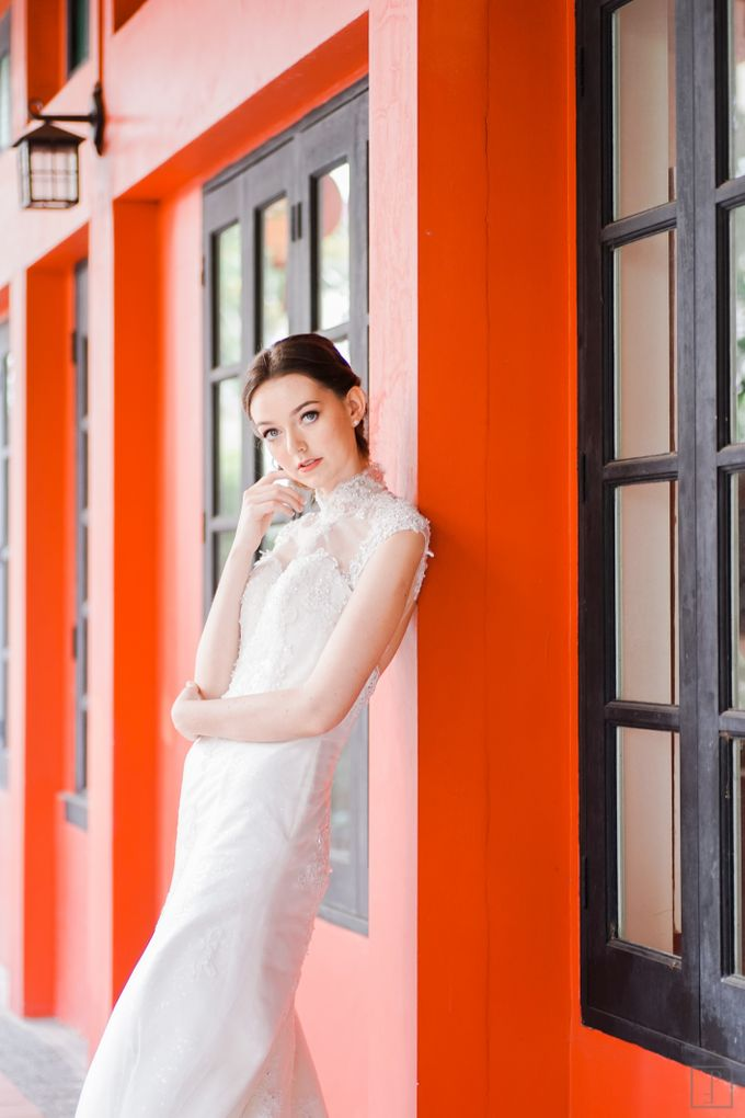 An Urban Bridal Styled Shoot in Joo Chiat Singapore by Peach Frost Studio - 015