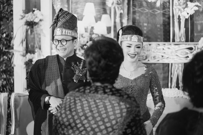 Togi & Jesicca - Holy Matrimony & Batak Ceremony by JAYSU Weddings by Jacky Suharto - 039