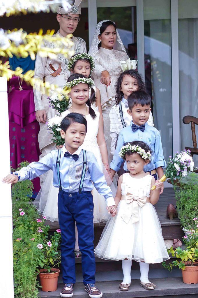 Malay Wedding - Zuzu & Mikhail by Raihan Talib Photography - 009