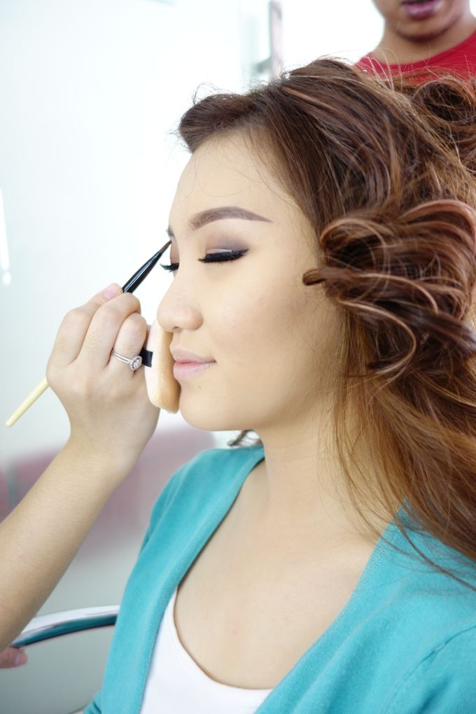 Bridal Make up Beatrice by Nelly Beauty Makeup - 013