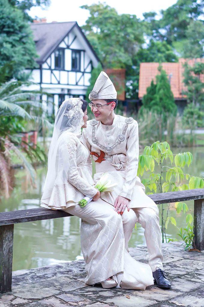 Malay Wedding - Zuzu & Mikhail by Raihan Talib Photography - 023