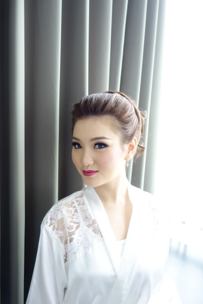 Bridal Make up Beatrice by Nelly Beauty Makeup - 020