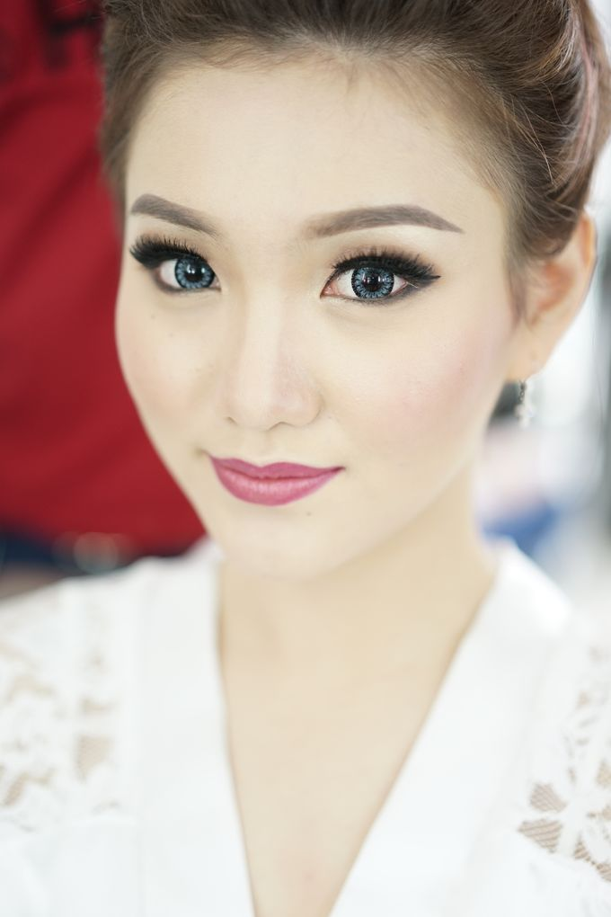 Bridal Make up Beatrice by Nelly Beauty Makeup - 022