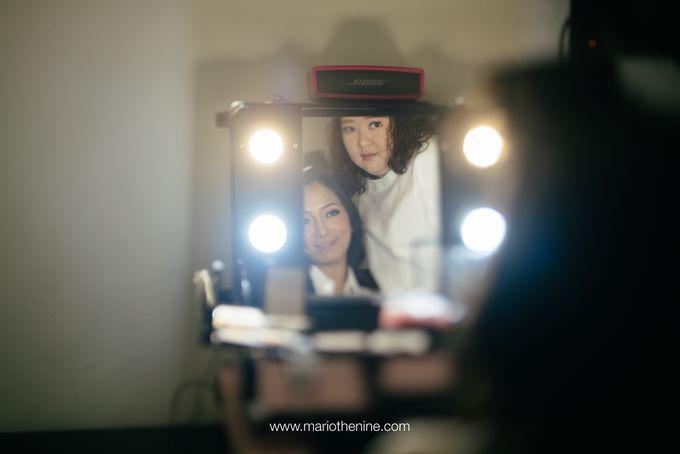 Suryo & Dina wedding day by Mimi kwok makeup artist - 009