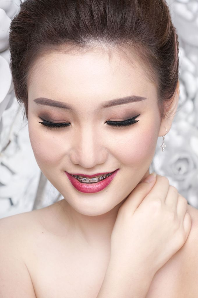 Bridal Make up Beatrice by Nelly Beauty Makeup - 004