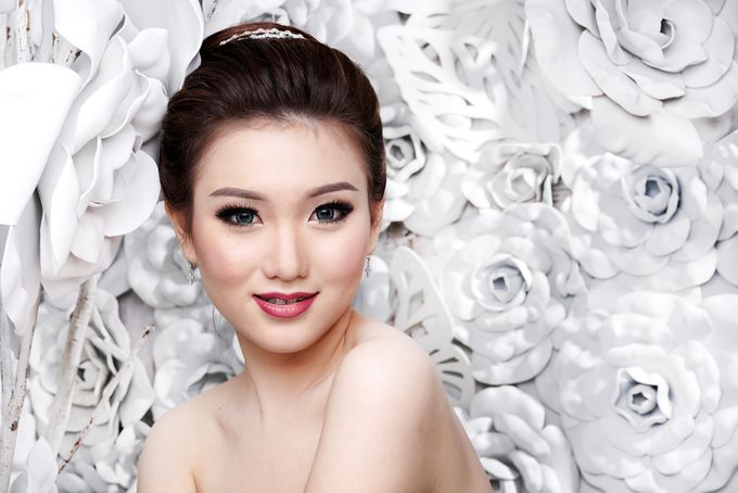Bridal Make up Beatrice by Nelly Beauty Makeup - 005