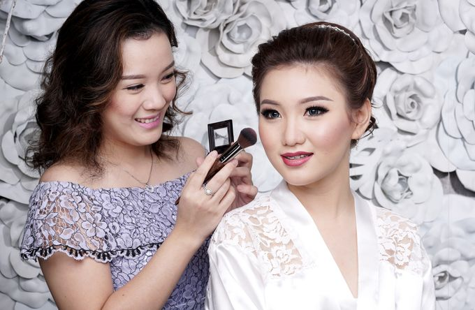 Bridal Make up Beatrice by Nelly Beauty Makeup - 006