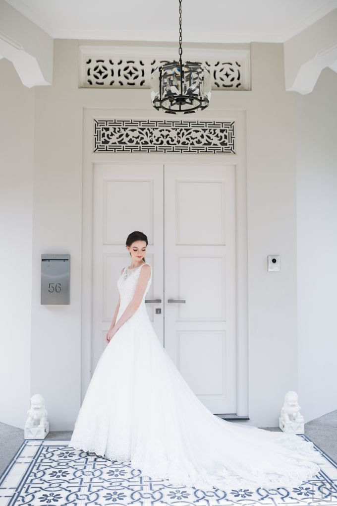 An Urban Bridal Styled Shoot in Joo Chiat Singapore by Peach Frost Studio - 002