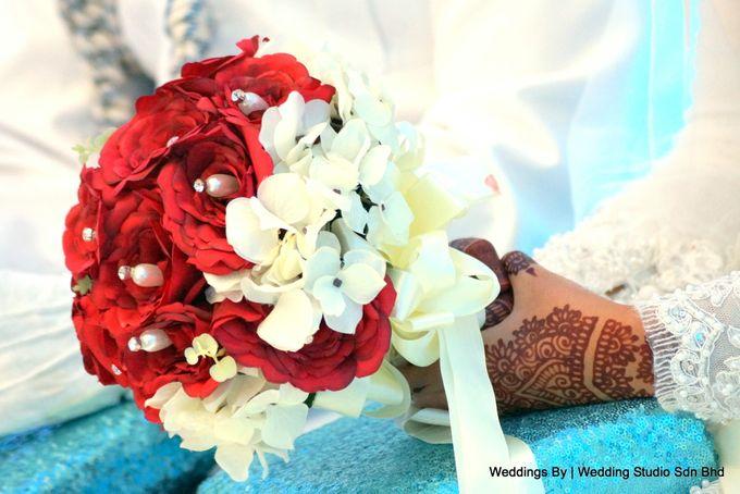 Wedding Reception at Ballroom Roof Garden Hotel by Wedding Studio Sdn Bhd - 009
