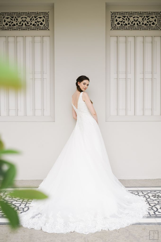 An Urban Bridal Styled Shoot in Joo Chiat Singapore by Peach Frost Studio - 007