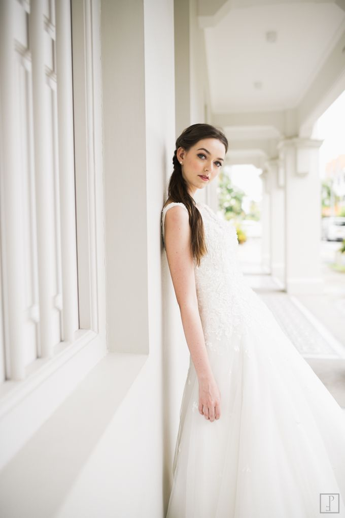 An Urban Bridal Styled Shoot in Joo Chiat Singapore by Peach Frost Studio - 008