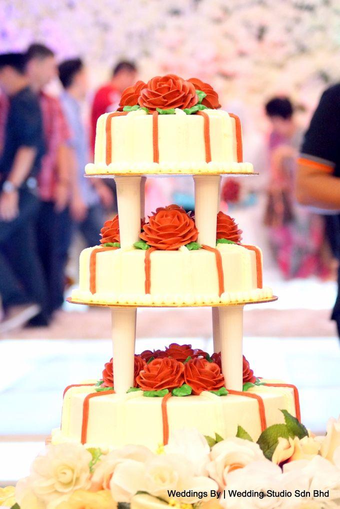 Wedding Reception at Ballroom Roof Garden Hotel by Wedding Studio Sdn Bhd - 020