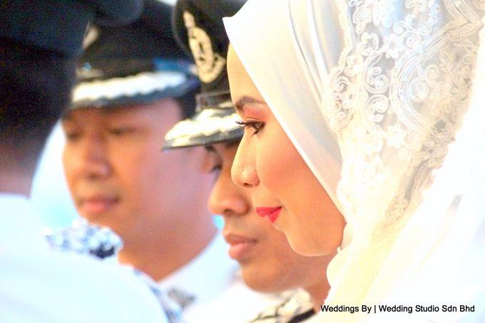 Wedding Reception at Ballroom Roof Garden Hotel by Wedding Studio Sdn Bhd - 023