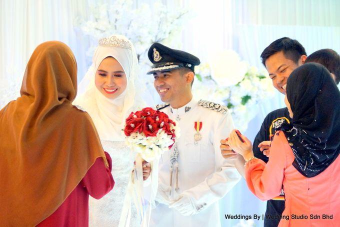 Wedding Reception at Ballroom Roof Garden Hotel by Wedding Studio Sdn Bhd - 032