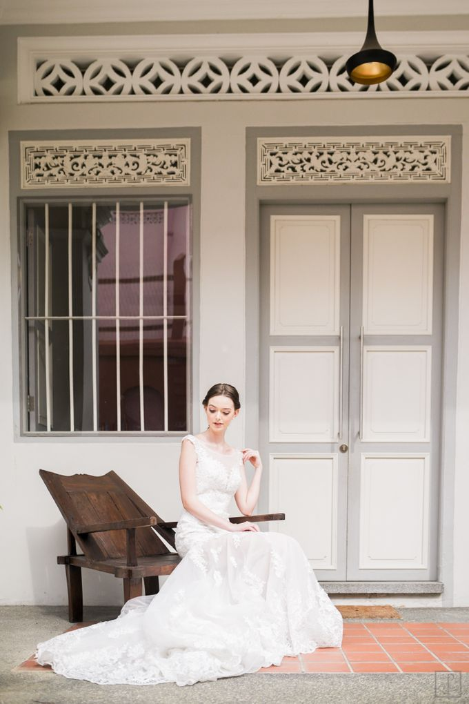 An Urban Bridal Styled Shoot in Joo Chiat Singapore by Peach Frost Studio - 012