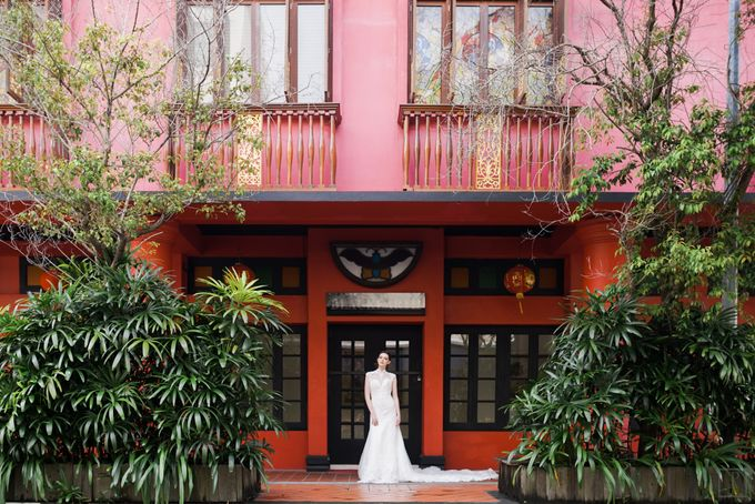 An Urban Bridal Styled Shoot in Joo Chiat Singapore by Peach Frost Studio - 014